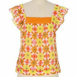 Anthropologie We love Vera Pellmell Poppy Top